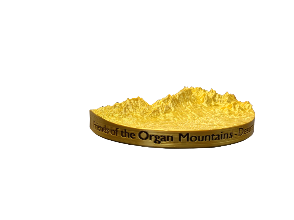 organ mountains, 3d print, 3d printed organ mountains